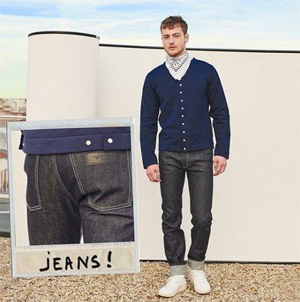 jeans homme agnès b.