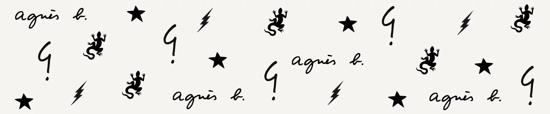 Logos agnès b.