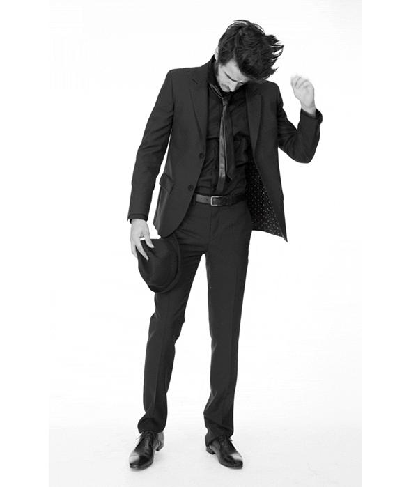 costume homme agnès b.