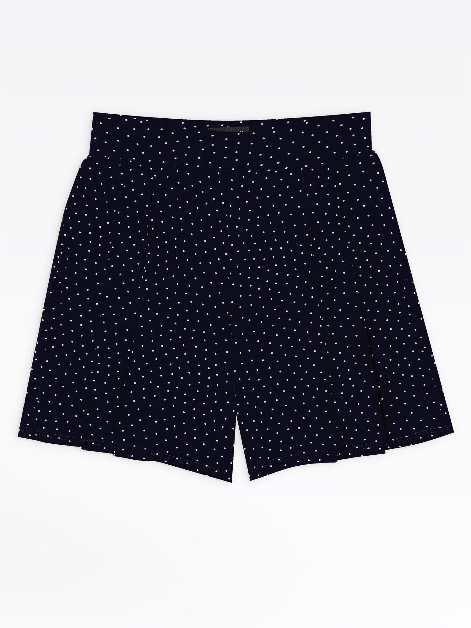 55e04c711a blue polka dots torenn shorts