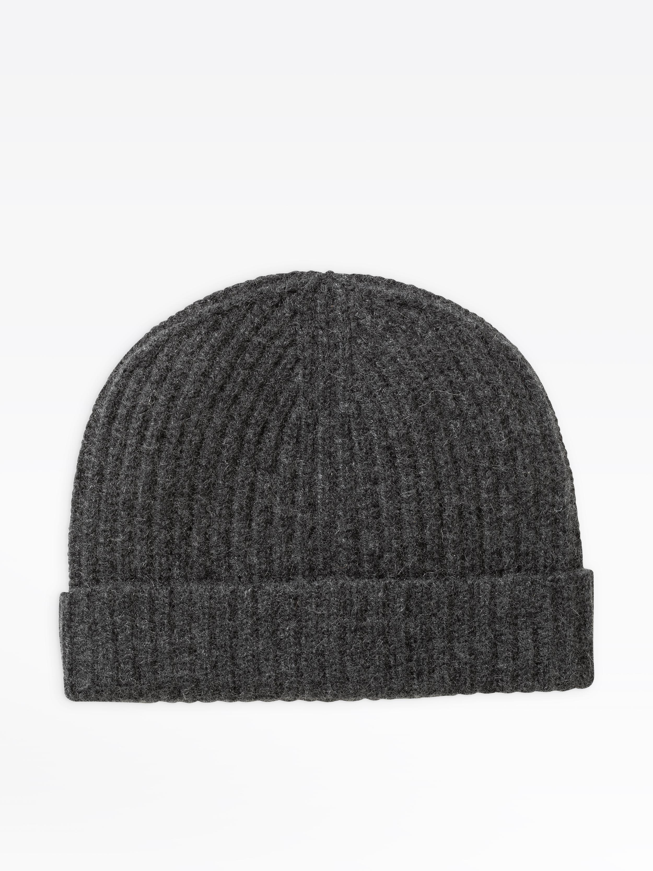 35e8670eb97223 ... dark grey cashmere alexi beanie hat. Loading... Image not available.