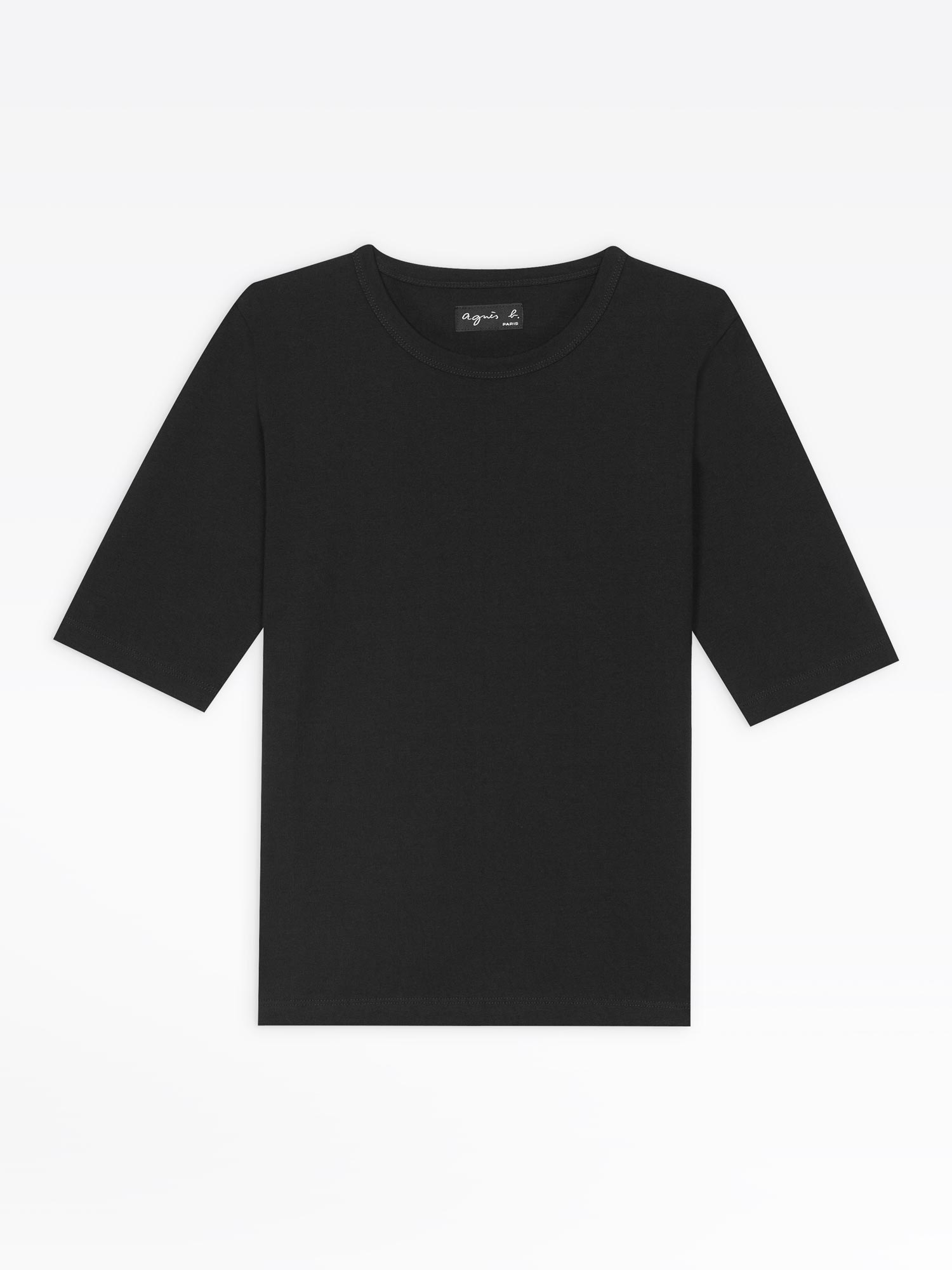 cheap hot sale online run shoes black brando elbow-length sleeves t-shirt