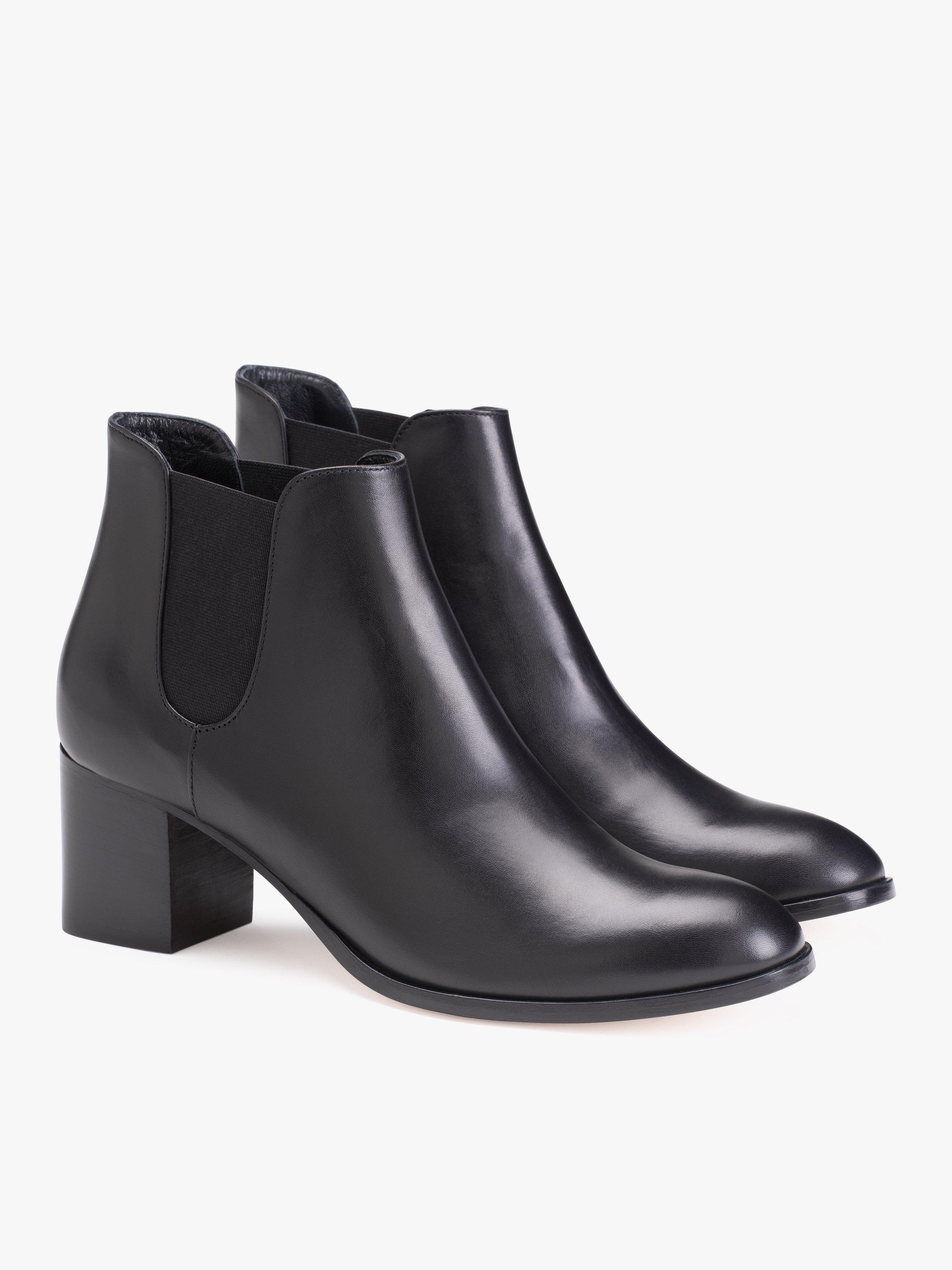 bottines cuir bottines en noires déborah 3RL5A4j