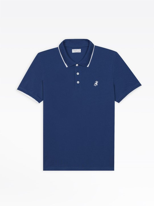 bf1525b11 quick purchase · blue brésil polo shirt with embroidered lizard. £95.00;  £95.00; Including DEEE